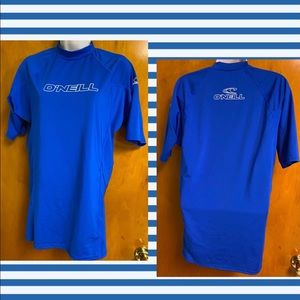O'Neill Swim Surf UV Protection Skins Blue T Shirt